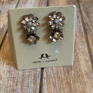 Chloe + isabel gardenia stud Earrings